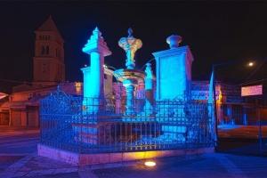 Площадь в Старом Городе. Вечерний Иерусалим