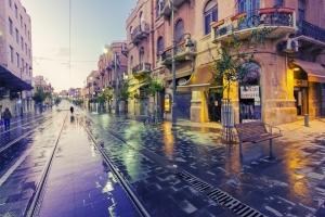 Иерусалим — старый и новый город. Улица Яффо