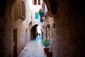 Улица Яффо. Иерусалим: старый и новый город