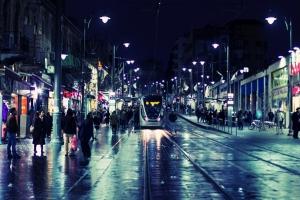Иерусалимский трамвай. Иерусалим: старый и новый город