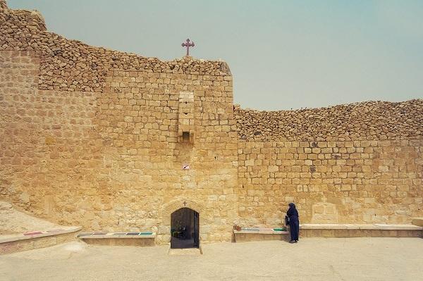 Вход в монастырь преп. Саввы Освященного. Православный Иерусалим, Вифлеем и монастыри Пустыни Тени Святого Града