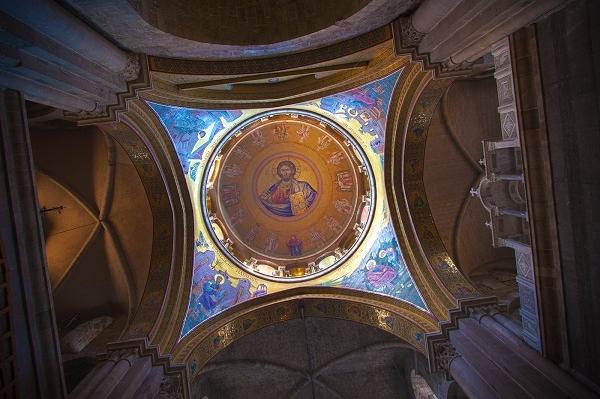 Купол Храма Гроба Господня. Православный Иерусалим и Вифлеем — 4 дня