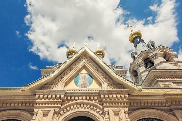 Монастырь св. Марии Магдалины. Православный Иерусалим 1 день