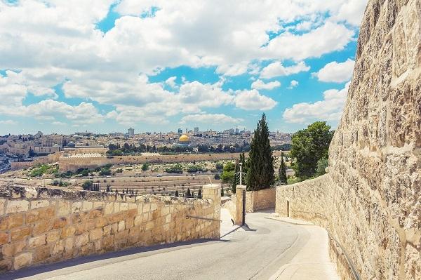 Вид с Елеона. Православный Иерусалим — 2 дня