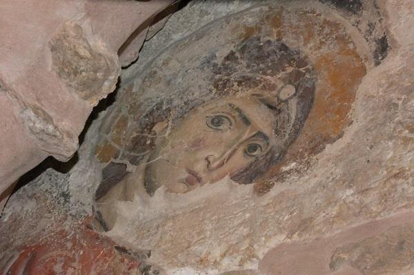 Ангел в Санданагайском монастыре. Малые монастыри внутри стен Старого Города