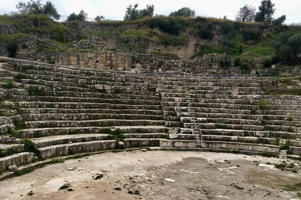 Амфитеатр в Себастии. Православная Самария