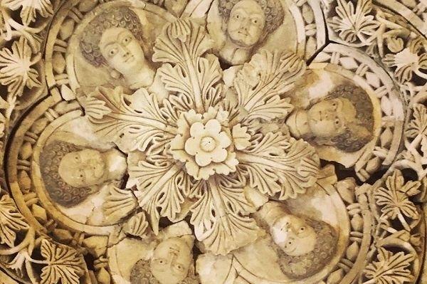 Потолок из дворца Валиде ибн Язида. Тайны сокровища и подземелья Иерусалима