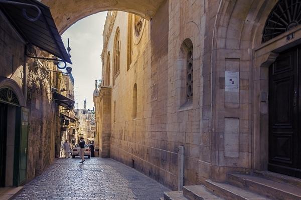 Улица Старого Города. Историческая реконструкция Крестного Пути