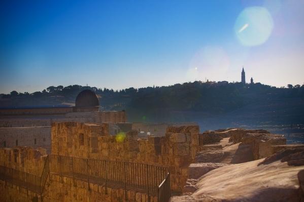 Южная Стена Старого Города. Стены Старого Города